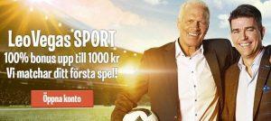 LeoVegas sportbook