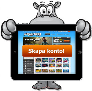 PlayHippo mobilcasino för iOS (iPad, iPhone) och Android