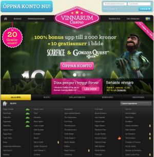 Vinnarum casino sajt