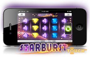 Starburst i Vinnarums mobilcasino