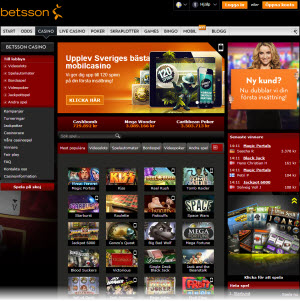Betsson casino sajt