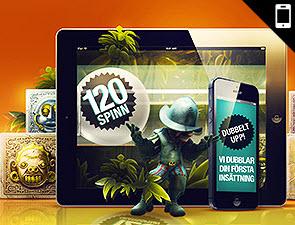 Det mobila casinot hos Betsson delar ofta ut freespins