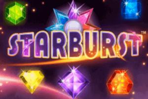 Starburst banner slot