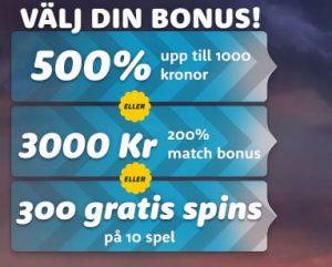 Casinoroom bonuserbjudande