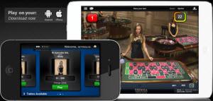 Live casino på iPad och Mobil