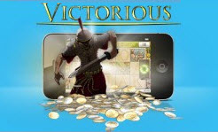 Vera John mobilcasino - slotten Victorious från NetEnt