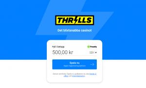 Thrills Startsida spela utan konto