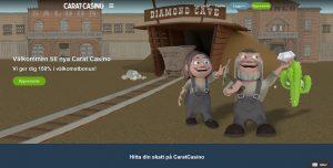 Spela med Carat casino online