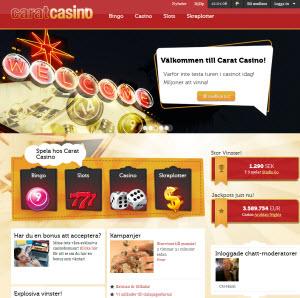 Carat casino sajt
