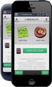 Spela i mobilen hos CasinoFloor