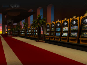 CasinoFloor - casino i 3D