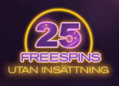 Free spins utan krav på insättning