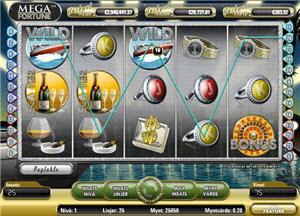 Mega Fortune med gigantisk jackpott
