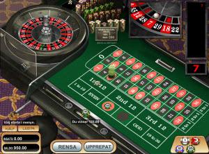 Online Roulette från tillverkaren Betsoft