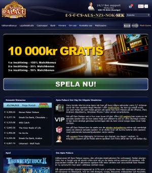 Spin Palace sajt