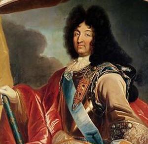 Louis XIV gillade baccarat