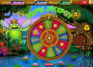 Super Lucky Frog jackpott