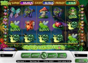 Super Lucky Frog spelautomat