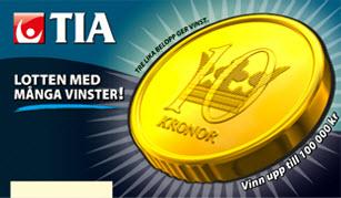 Tia-lotten från Svenska Spel