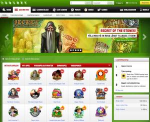Unibet casino sajt