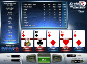 Jacks or Better videopoker