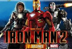 Spelutbud - Iron Man 2