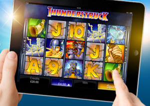 Casinon med iPad spel