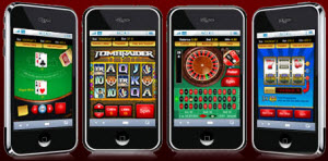 Spelutbudet på iPhone casinon