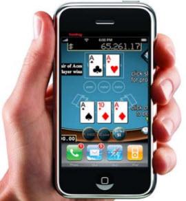 Spela på ett iPhone casino
