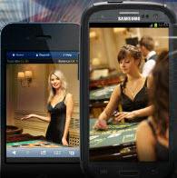 Spela live casinospel på Android