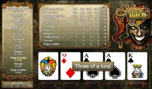 Casinospel - videopoker