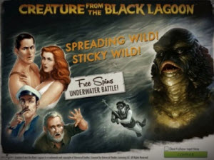 creature from the blaclagoon