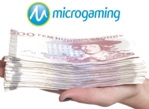 Olika bonusar hos Microgaming