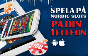 Mobila spel på NordicSlots