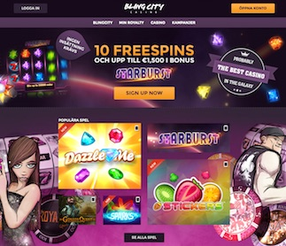 BlingCity Casino front