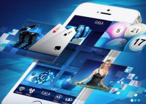 Spel för mobilen hos Gala