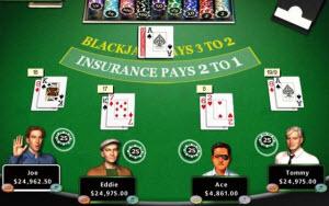 Kortspelet Blackjack