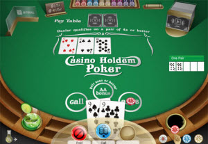 Kortspelet Casino holdem