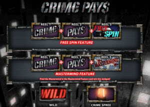 crime pays spelautomat