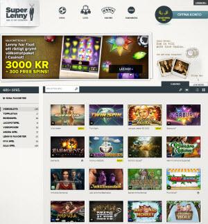 SuperLenny casino sajt