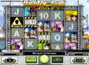 Demolition Squad spelautomat