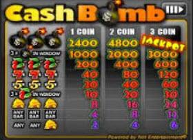 cash bomb netent