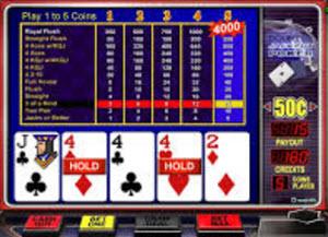 Double Jackpot Poker videopoker