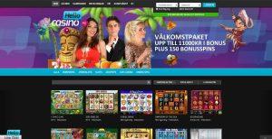 Hello Casino startsida
