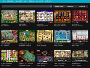 Hello Casino spelutbud