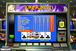 jokers wild videopoker