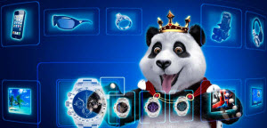 Royal Panda lojalitetsbutik