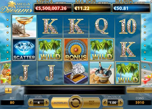 megafortune dreams slot