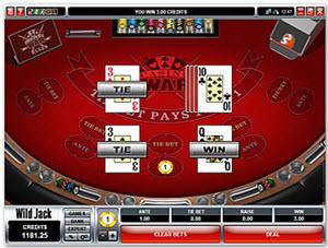 spela casino war