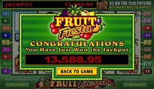 fruit fiesta jackpott